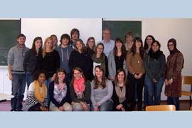 "Etudiants du module ""neuropsychologie clinique"" (Master 2, mai 2014)"
